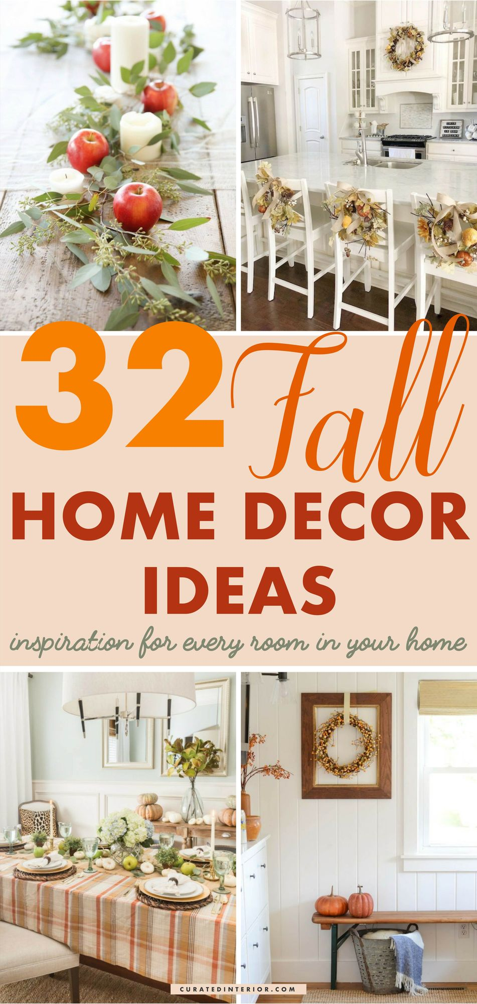 32 Fall Home Decor Ideas And Inspiration For Every Room #FallDecor #FallHomeDecor #FallDecorIdeas #FallHome