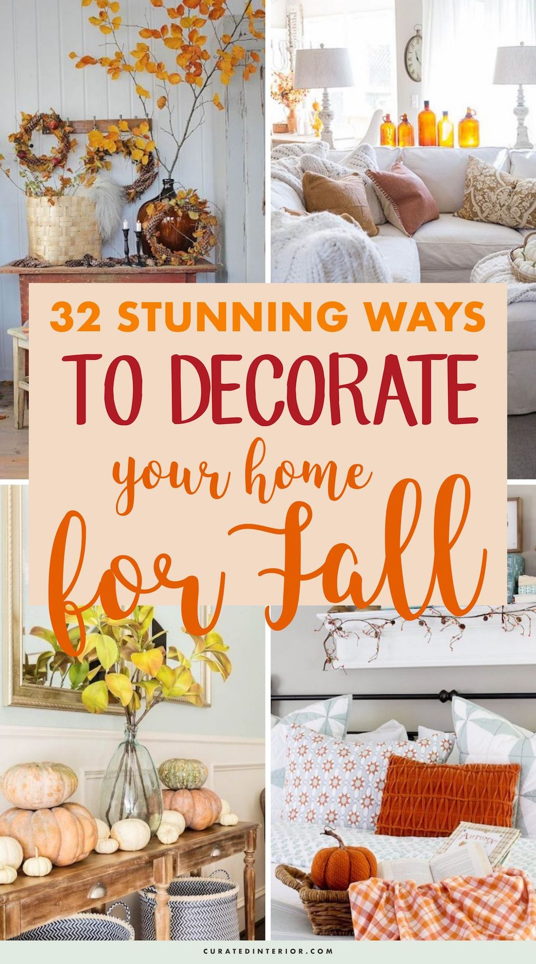32 Stunning Ways To Decorate Your Home For Fall #FallDecor #FallHomeDecor #FallDecorIdeas #FallHome