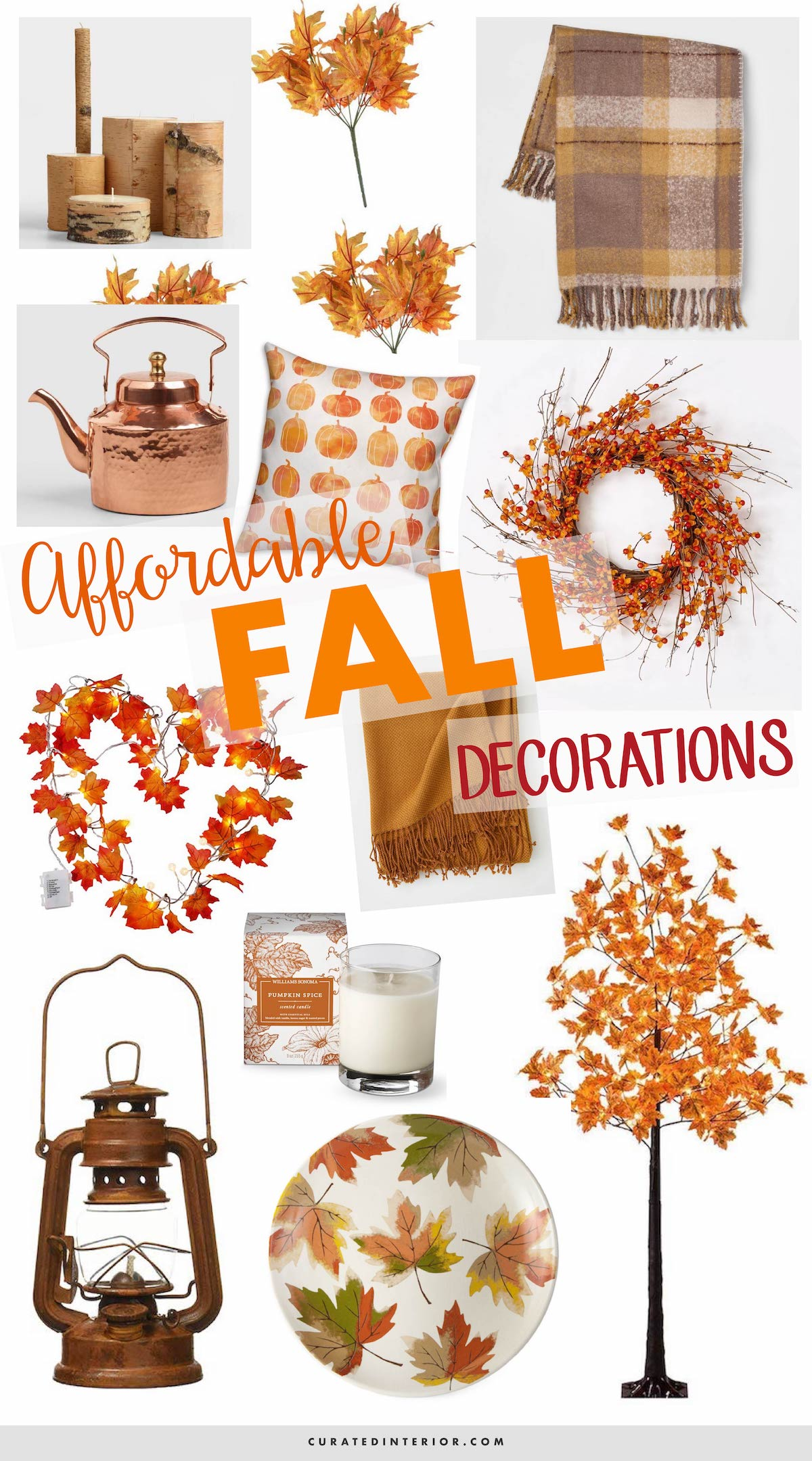 Affordable Fall Decorations 2018