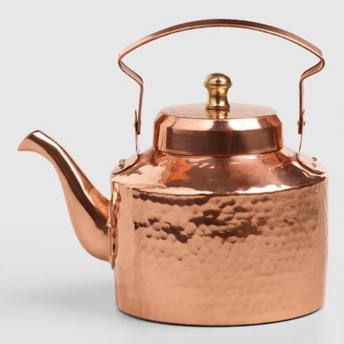 Affordable Fall Decorations Copper Tea Kettle