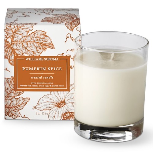 Affordable Fall Decorations Pumpkin Spice Candle