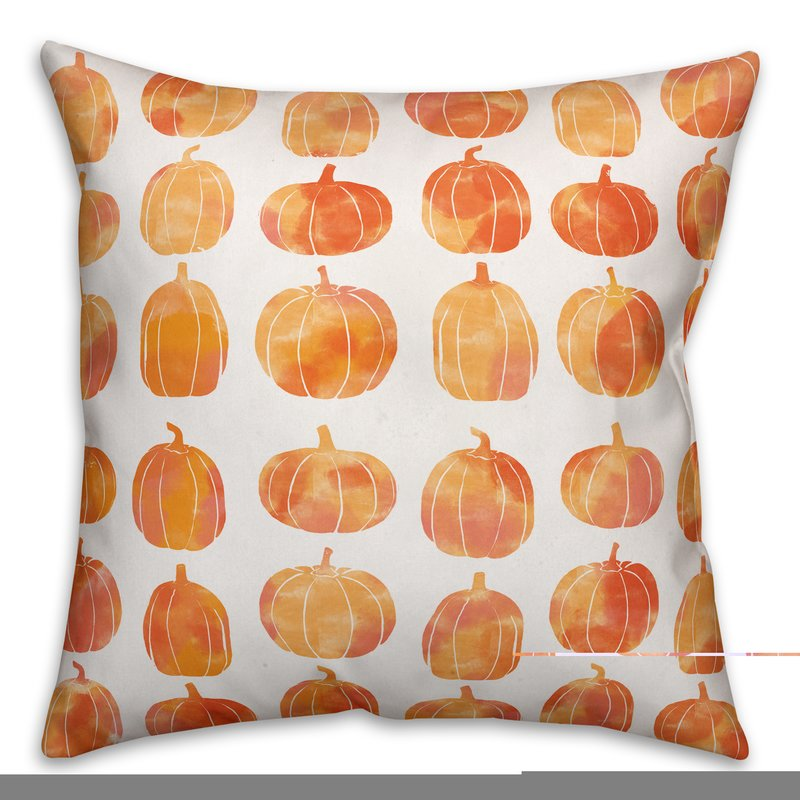 Affordable Fall Decorations Pumpkins Double Sided Print Throw Pillow