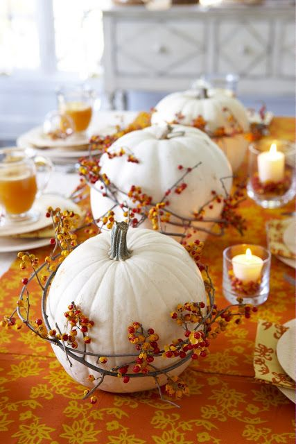 15 Most Beautiful DIY Thanksgiving Centerpieces
