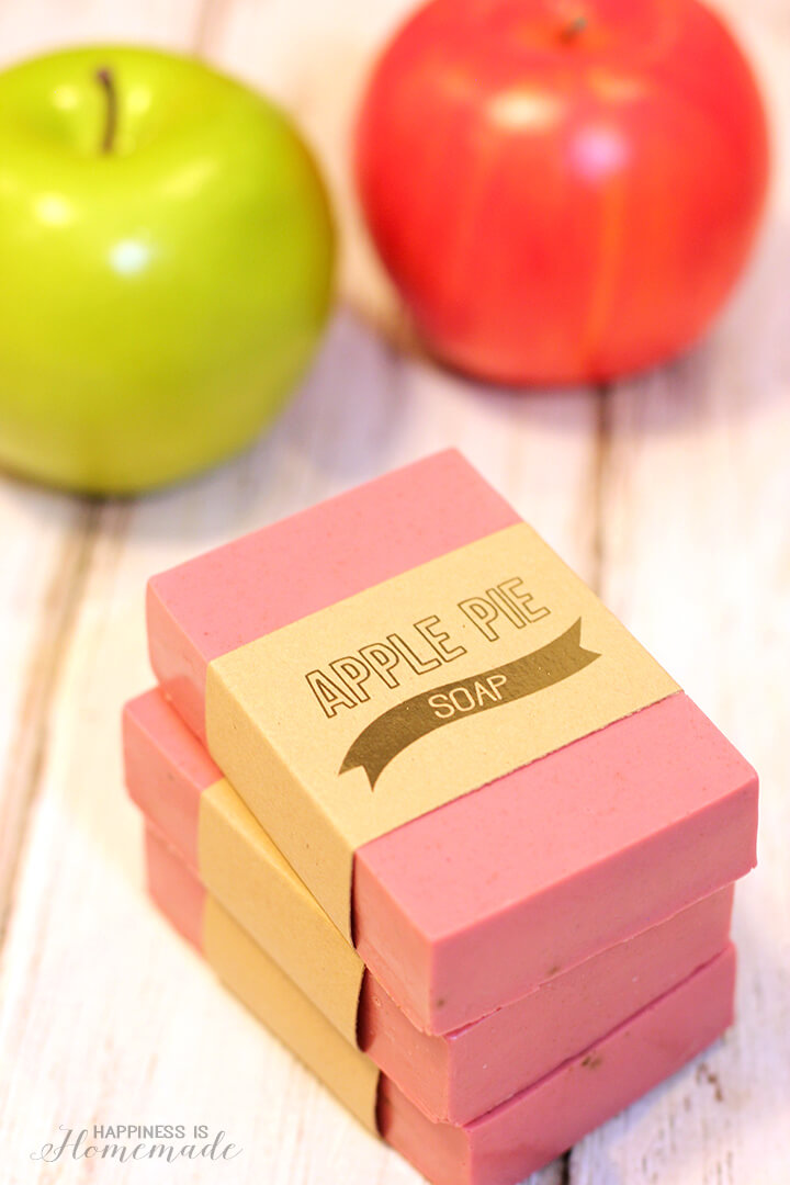 DIY Apple Pie Soap, Fall Decor Crafts