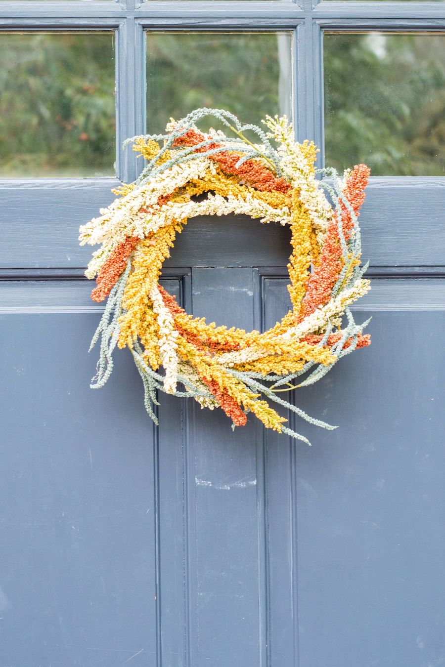 DIY Fall Wreath via anightowlblog