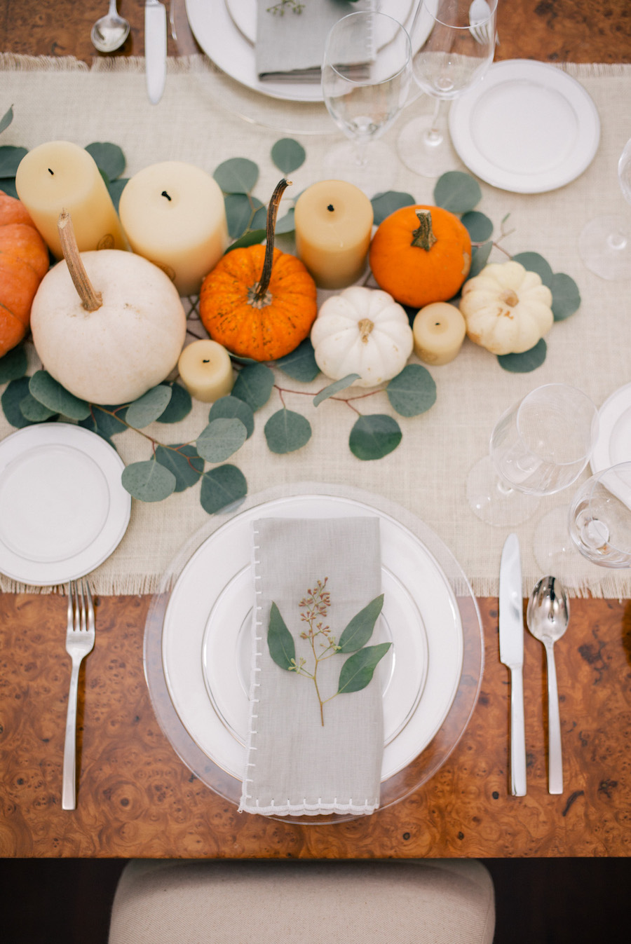 Gal Meets Glam Thanksgiving Tablescape