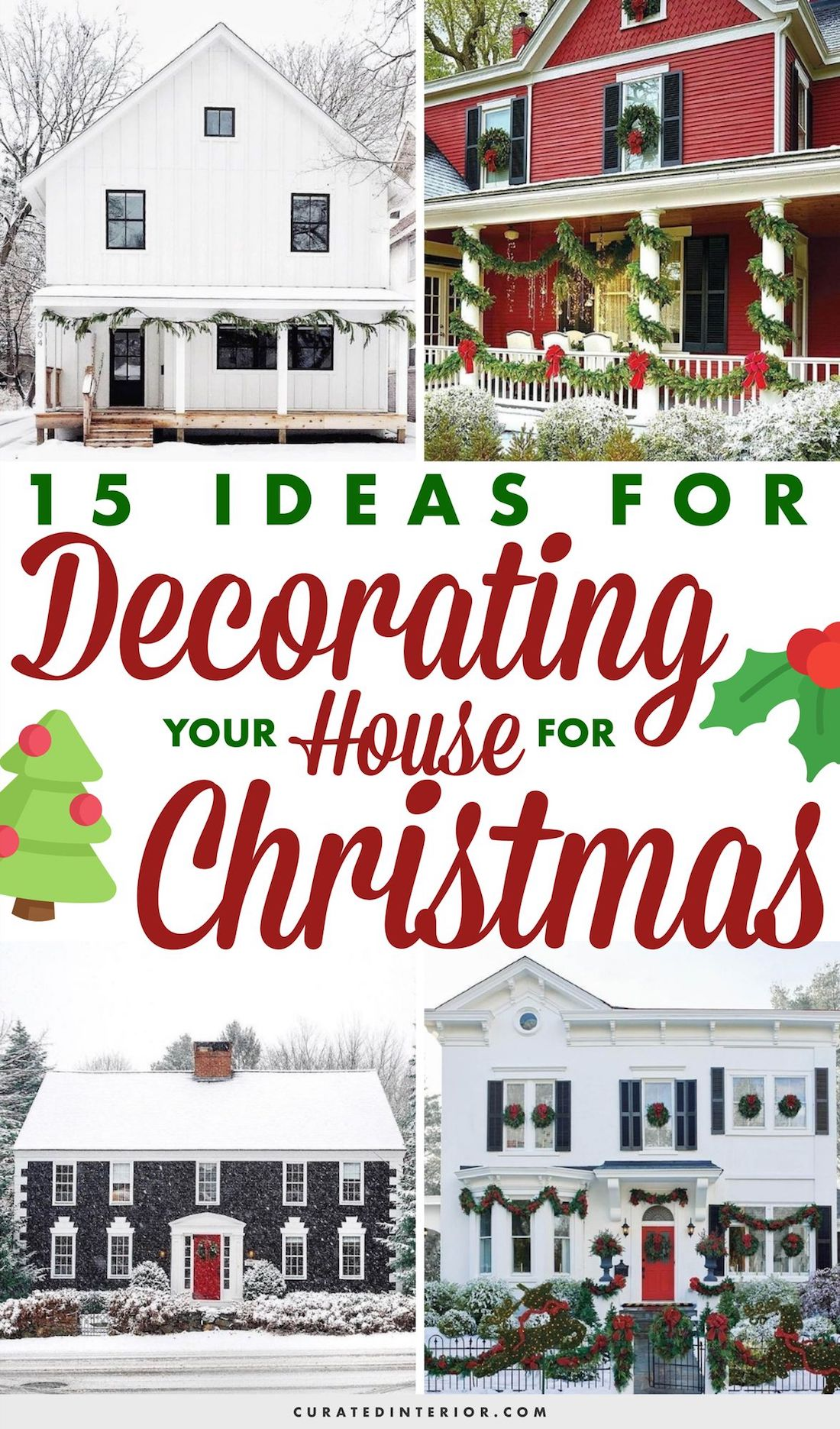 15 Ideas for Decorating Your House for Christmas #ChristmasDecor