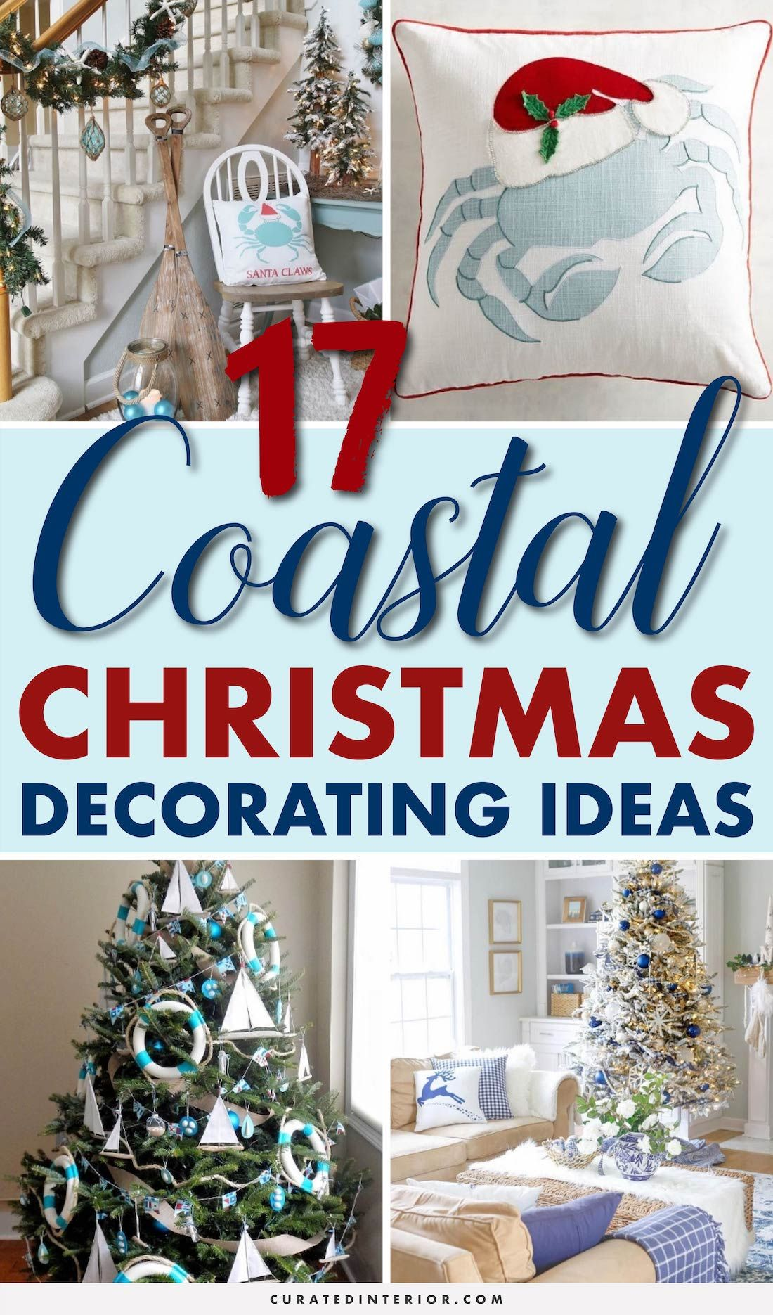 17 Coastal Christmas Decor Ideas