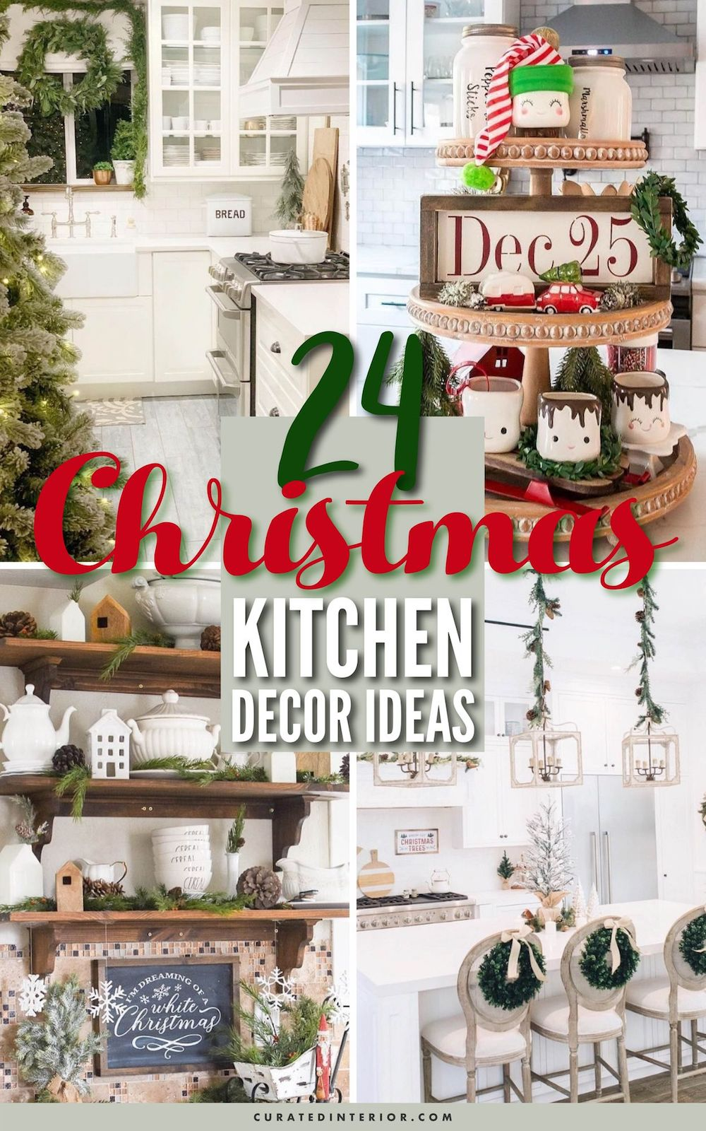 24 Christmas Kitchen Decor Ideas