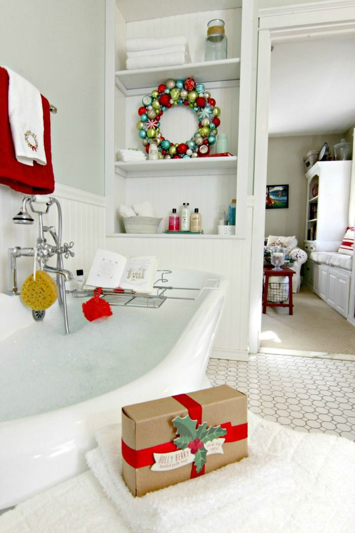 Bathtub Christmas Decor