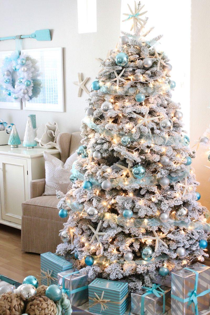 Beach Themed Christmas Decorations.17 Coastal Christmas Decor Ideas