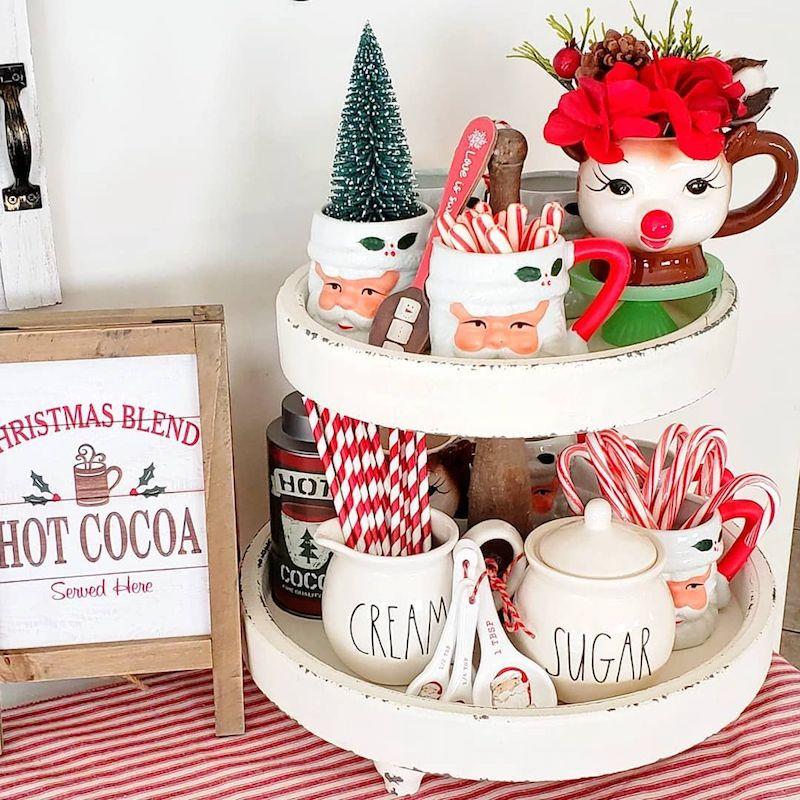 Christmas Blend Cocoa Bar via @julieyepiz