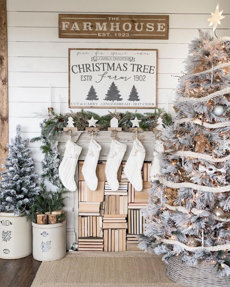 25 Inspiring Farmhouse Christmas Decor Ideas You Need to See
