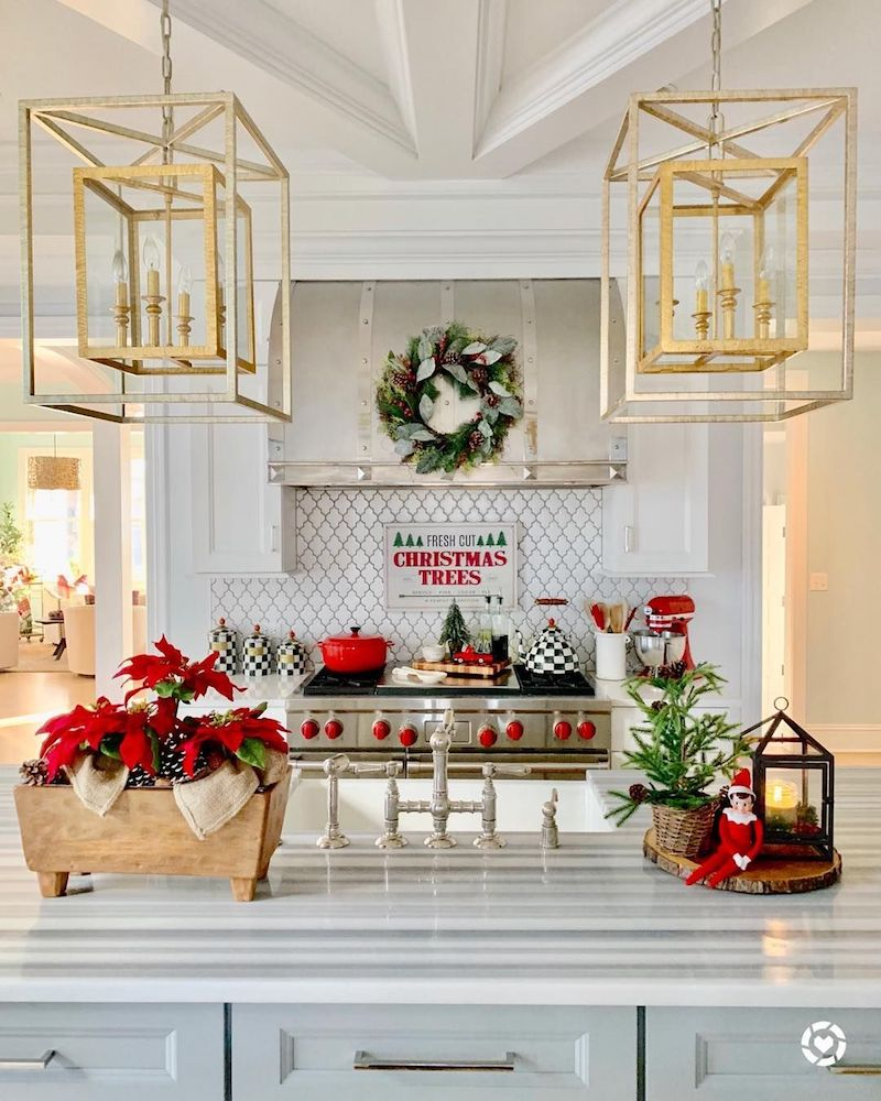 24 Must See Christmas Kitchen Decor Ideas