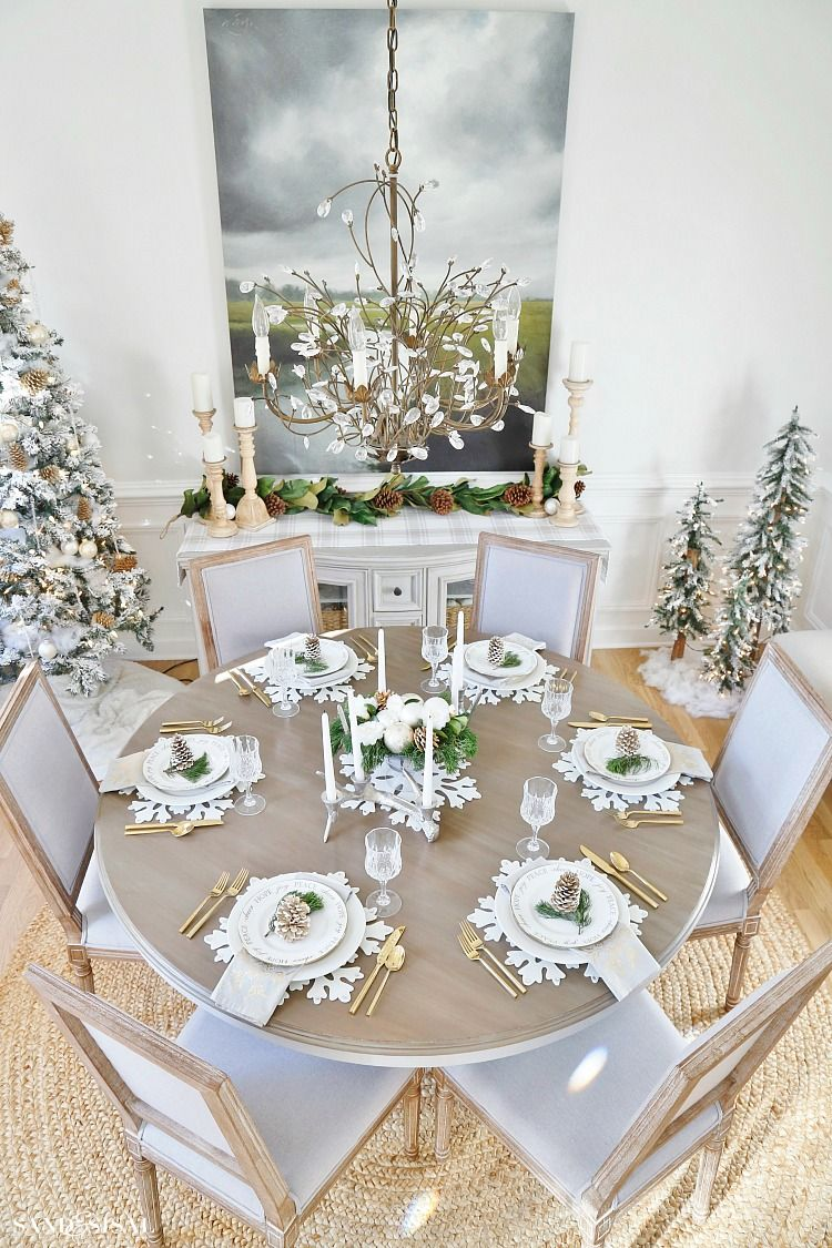 21 Christmas Dining Room Decor Ideas