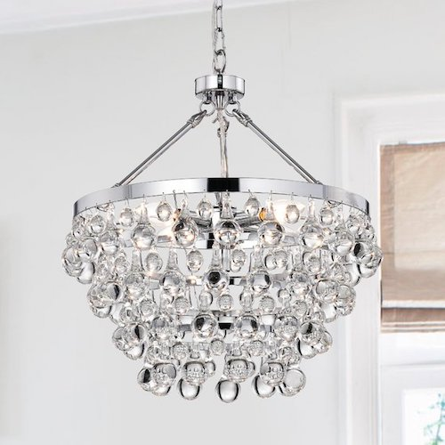 Ahern 5-Light Crystal Chandelier $202