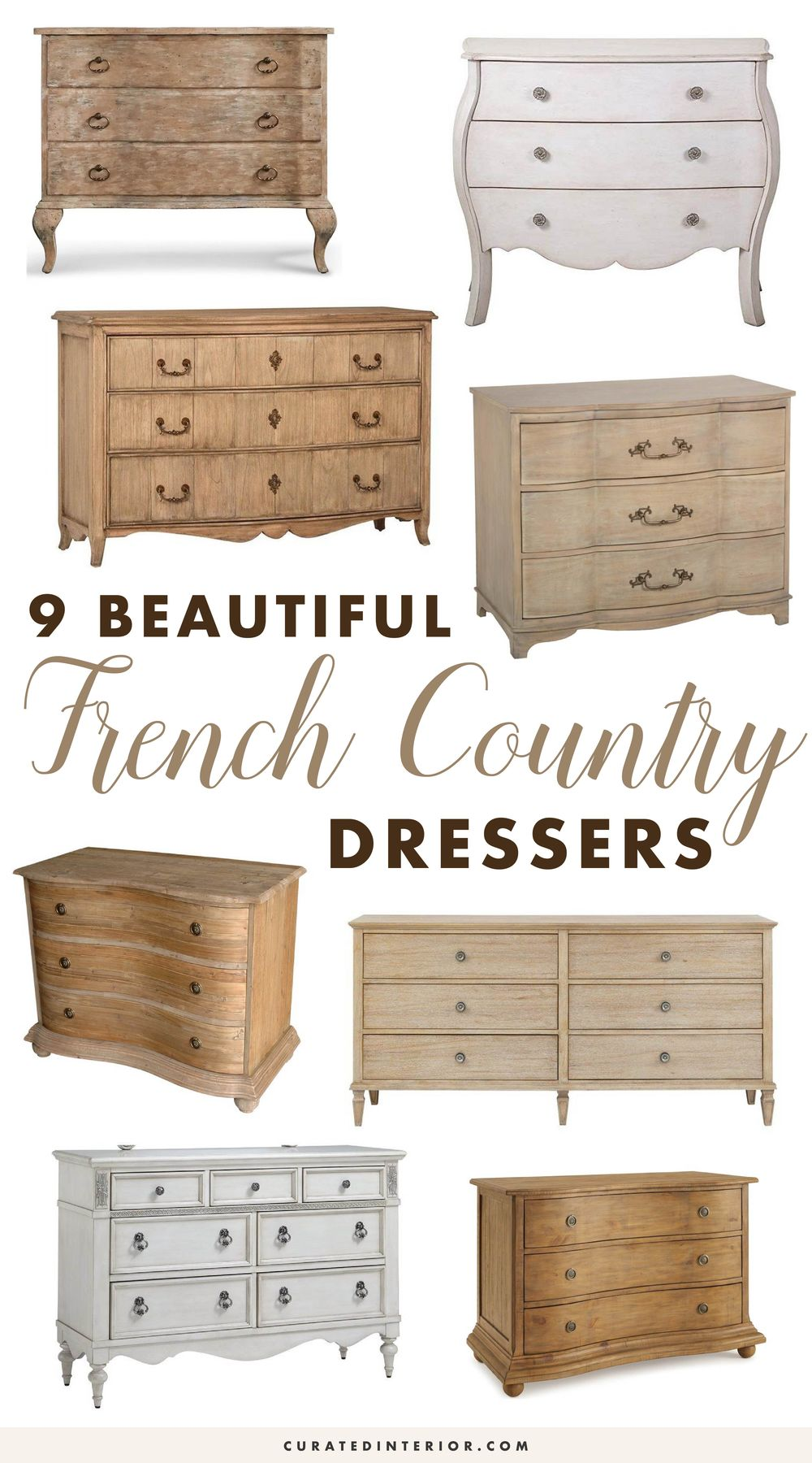 Beautiful French Country Dressers Bedroom