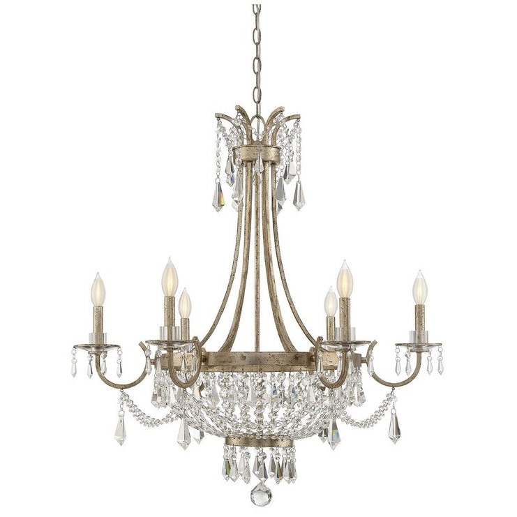 Belgrade 6-Light Empire Chandelier $701