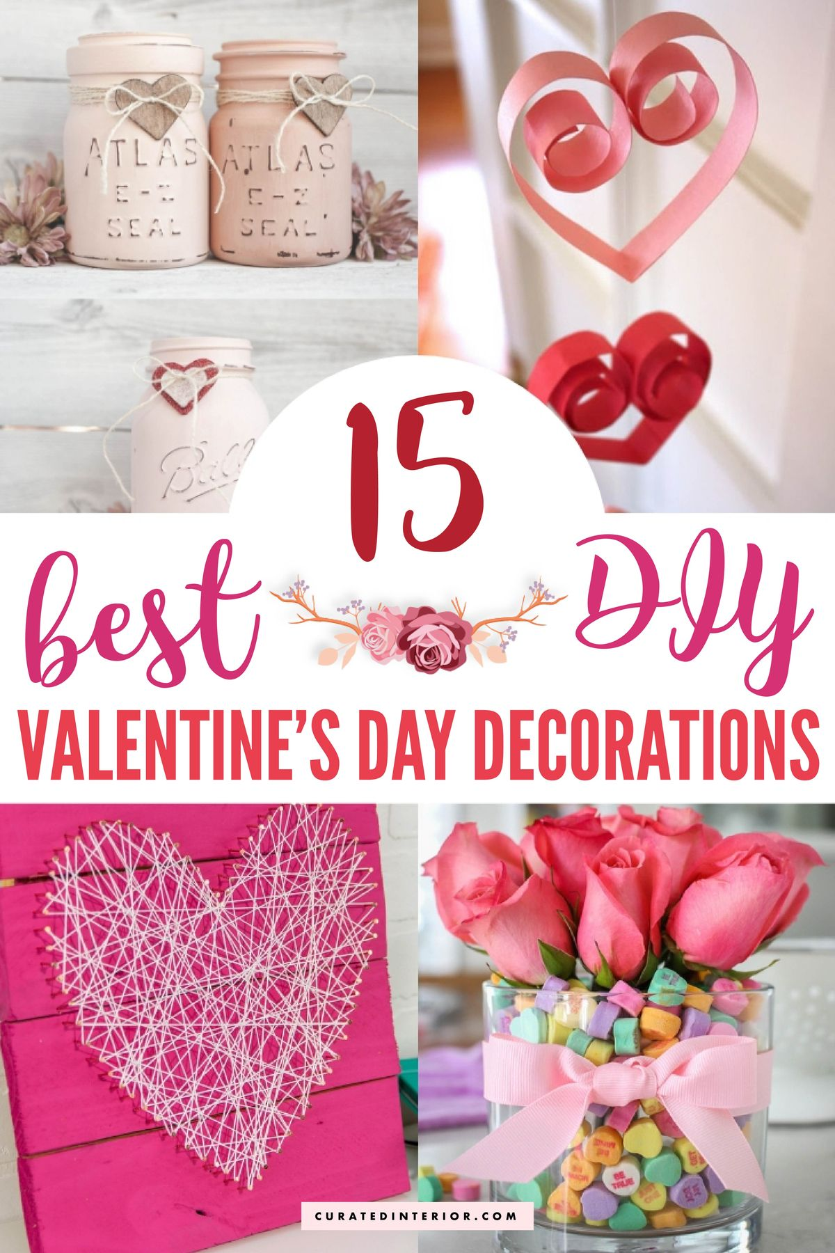 15 Best Diy Valentine S Day Decorations