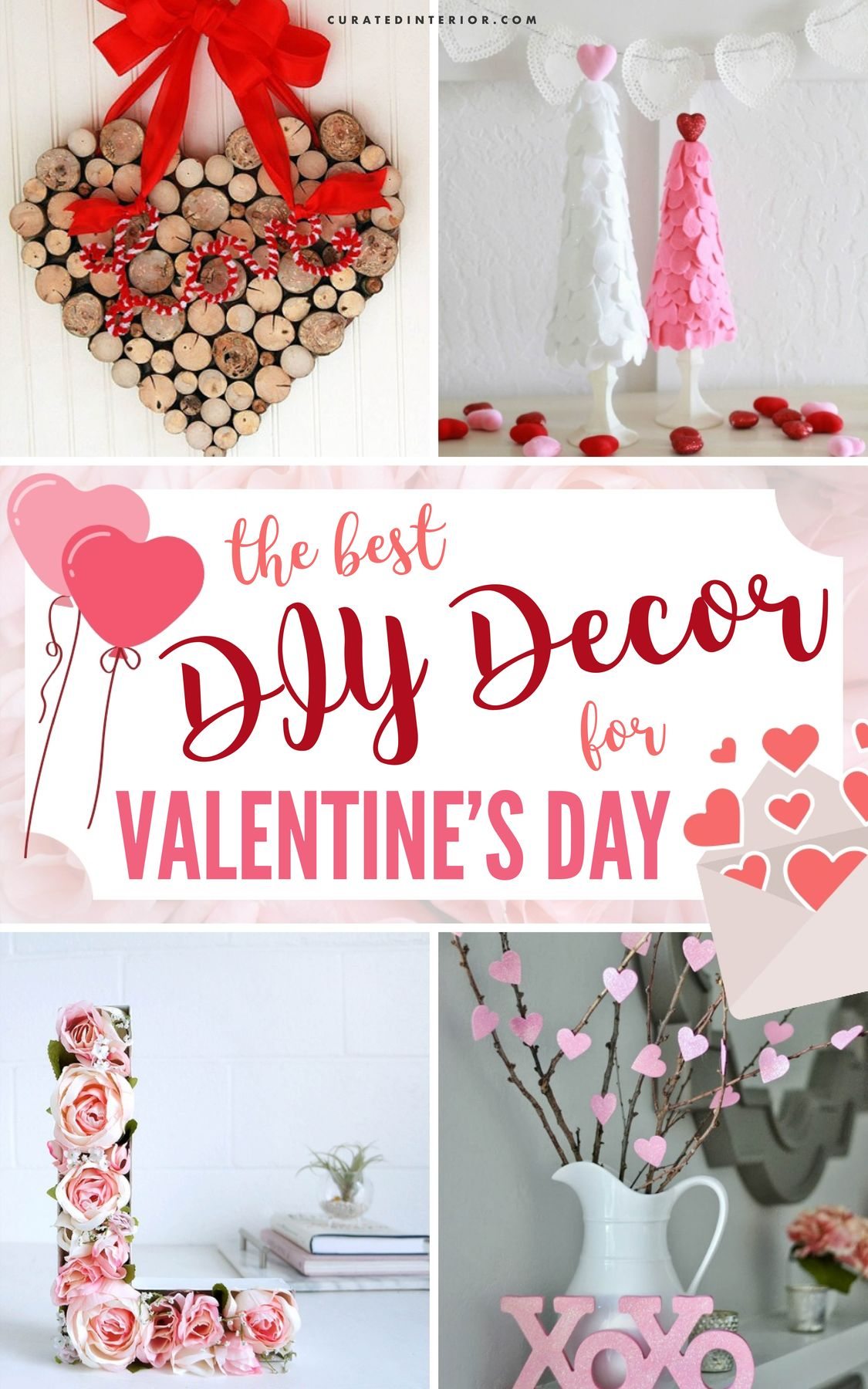 DIY Decor for Valentine's Day