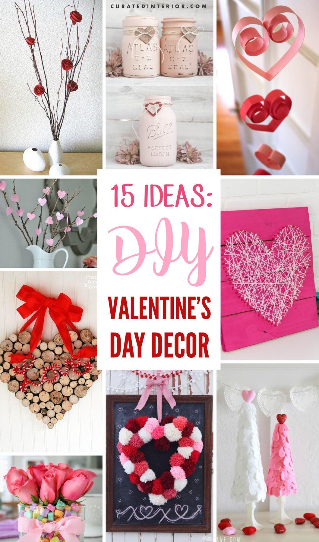 15 Best Diy Valentine S Day Decorations