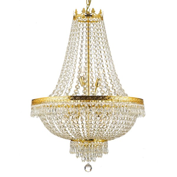 Empire Crystal 9-light Chandelier $493