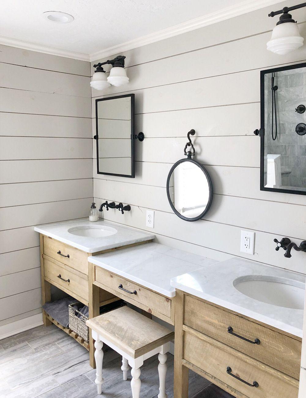 15 Bathroom Wall Decor Ideas: 15 Farmhouse Style Decor Ideas To Get You Started