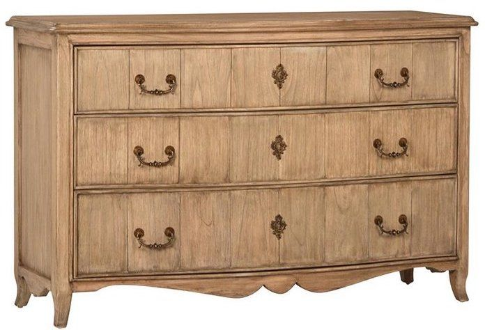 French Country Braxson 3 Drawer Dresser – French Country Dressers