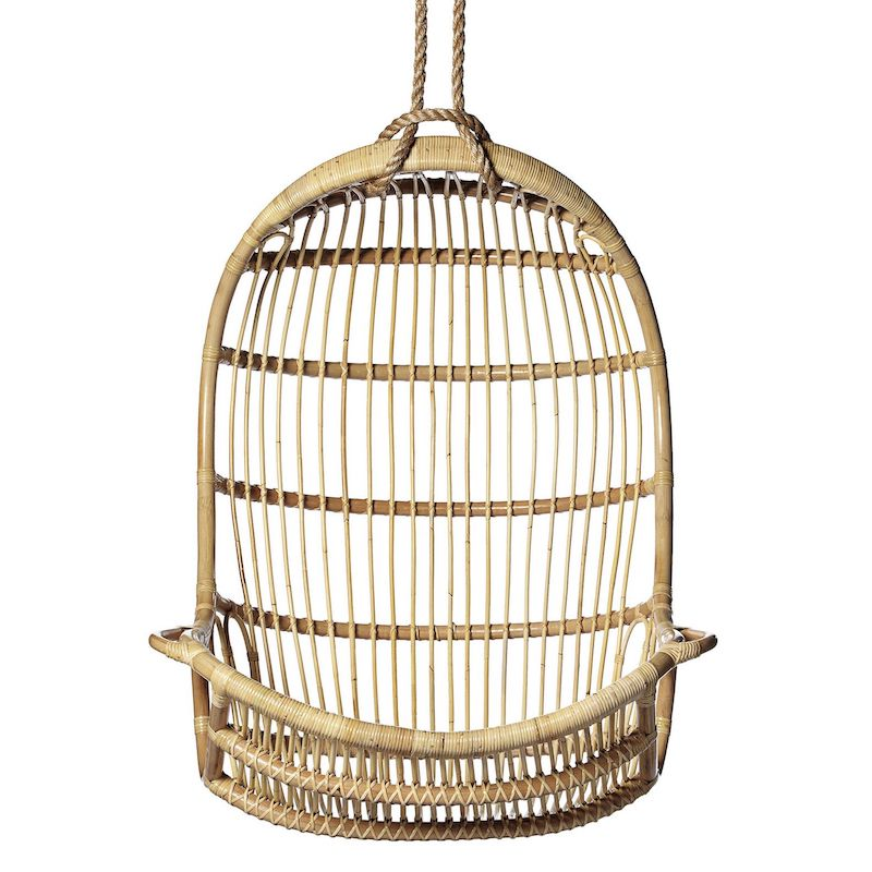 Hanging Rattan Chair for Outdoor or Indoor use