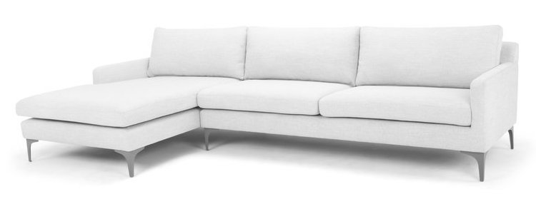 Light Gray Sectional Sofa