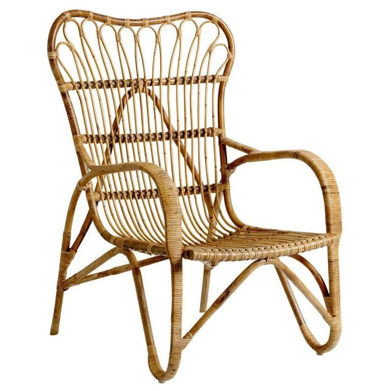 Rattan Lounge Chair design by BD Edition