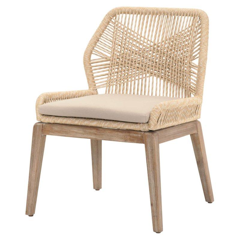 Rattan woven Kiley Dining Chair