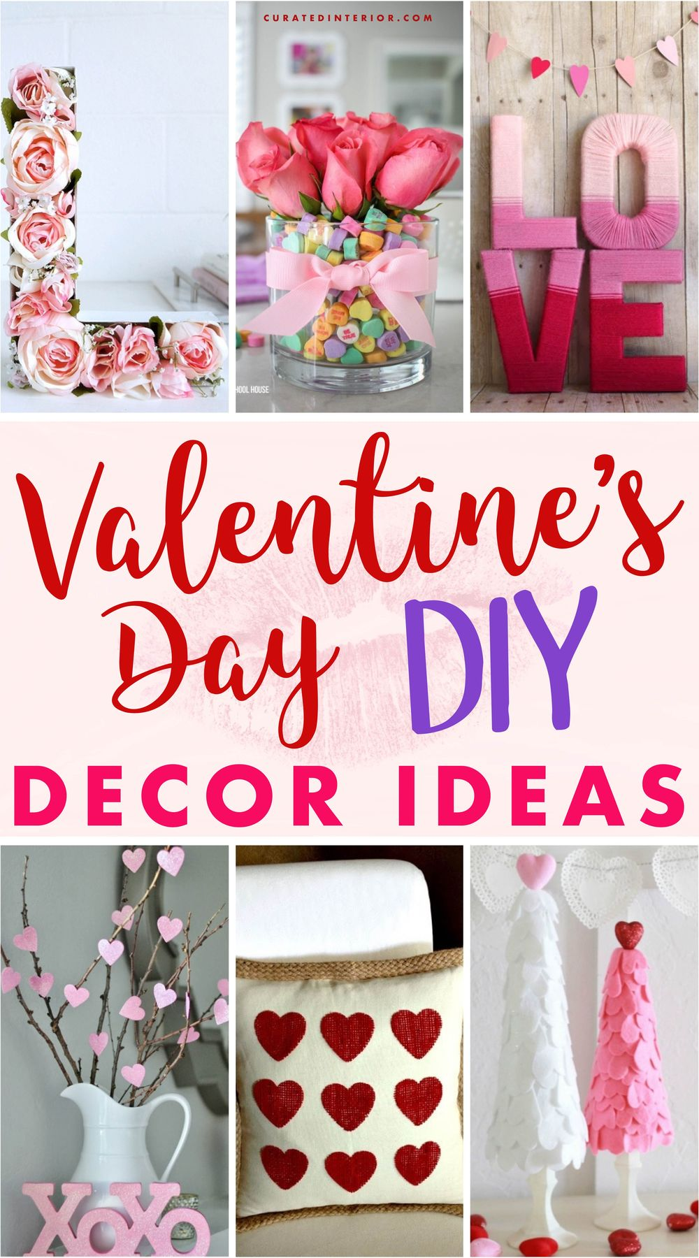 Valentine's Day DIY Decor Ideas