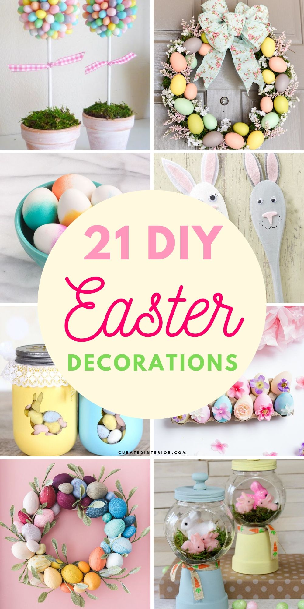 21 DIY Easter Decorations and Ideas
