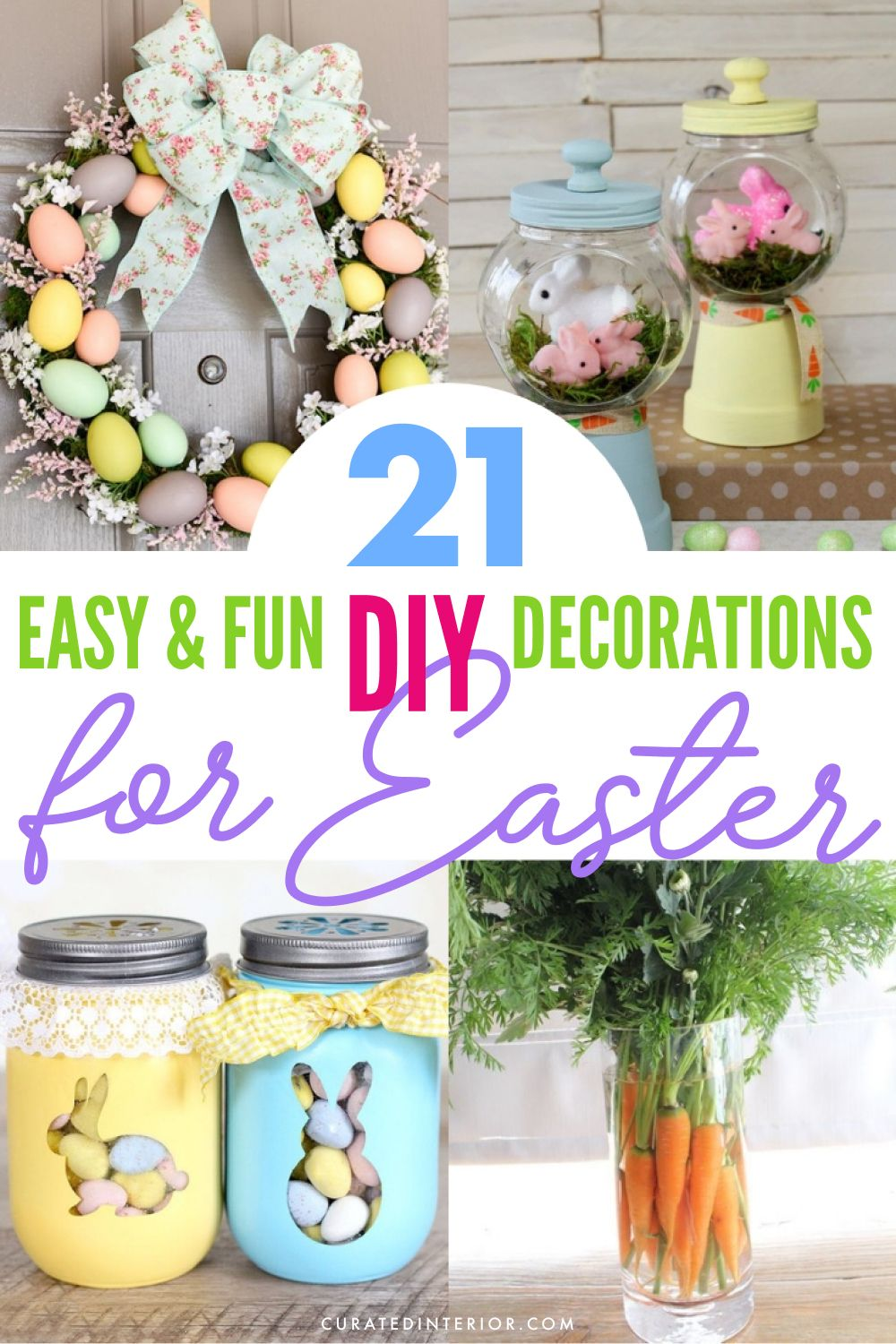 21 Easy & Fun DIY Decorations for Easter