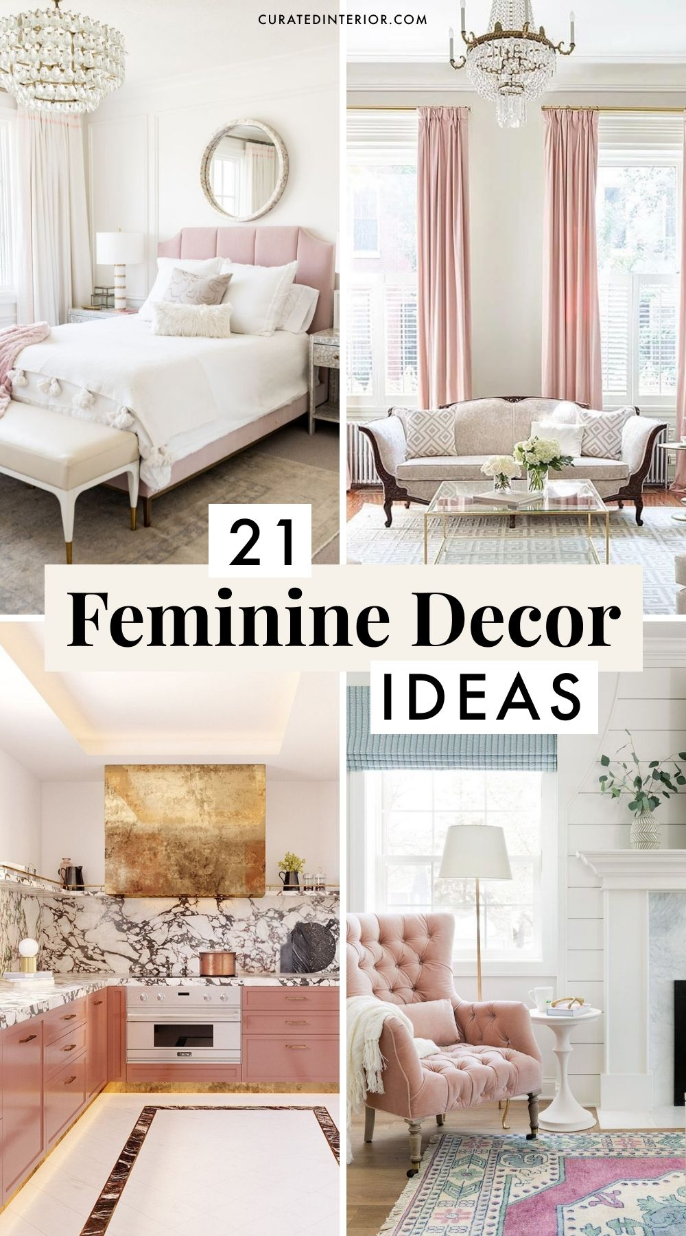21 Feminine Decor Ideas