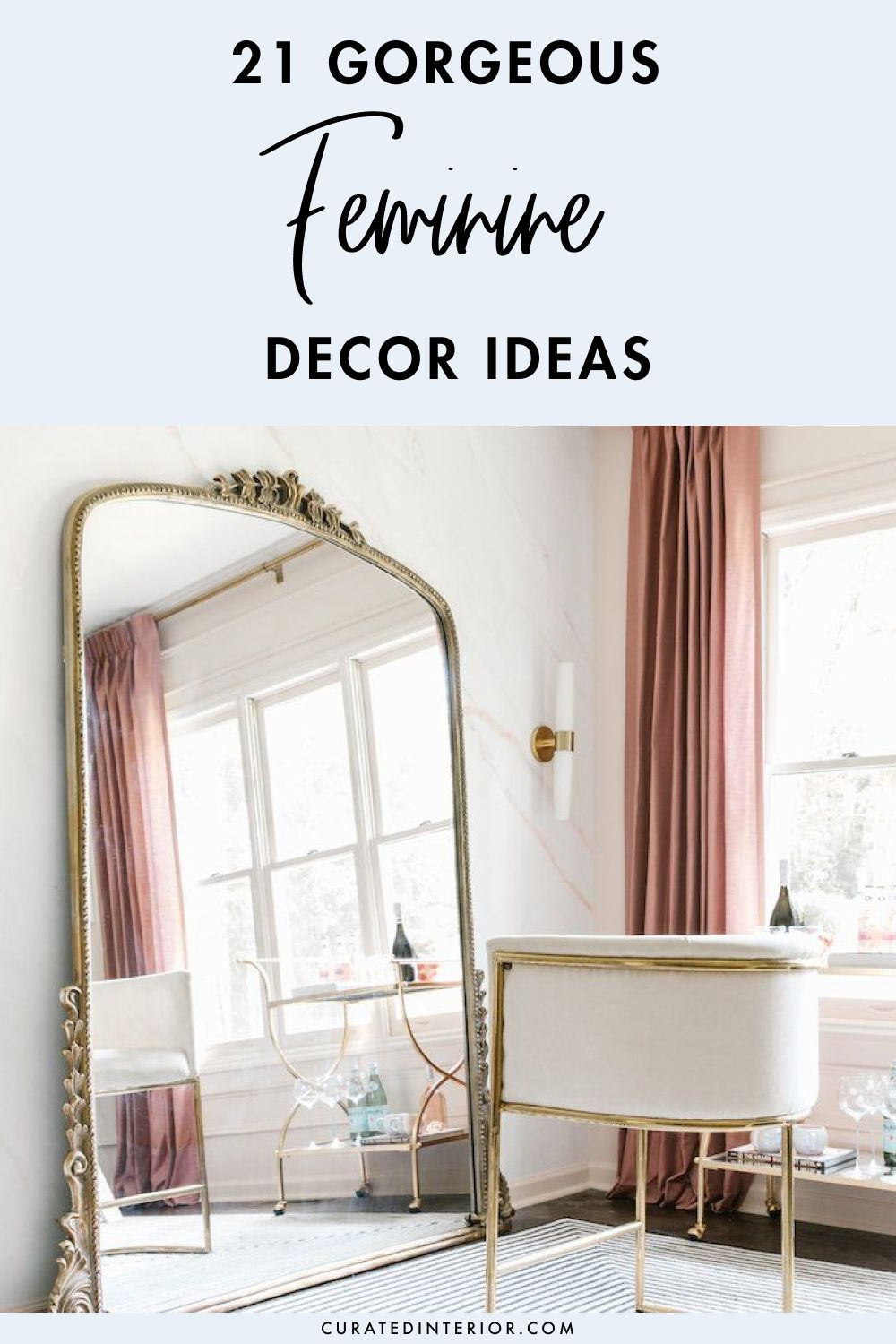 21 Gorgeous Feminine Decor Ideas