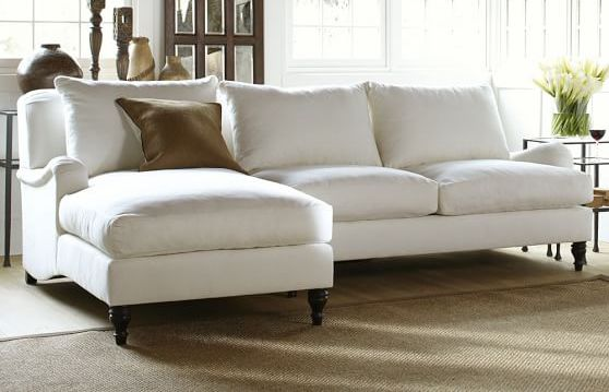 Carlisle Farmhouse Sectional Sofa