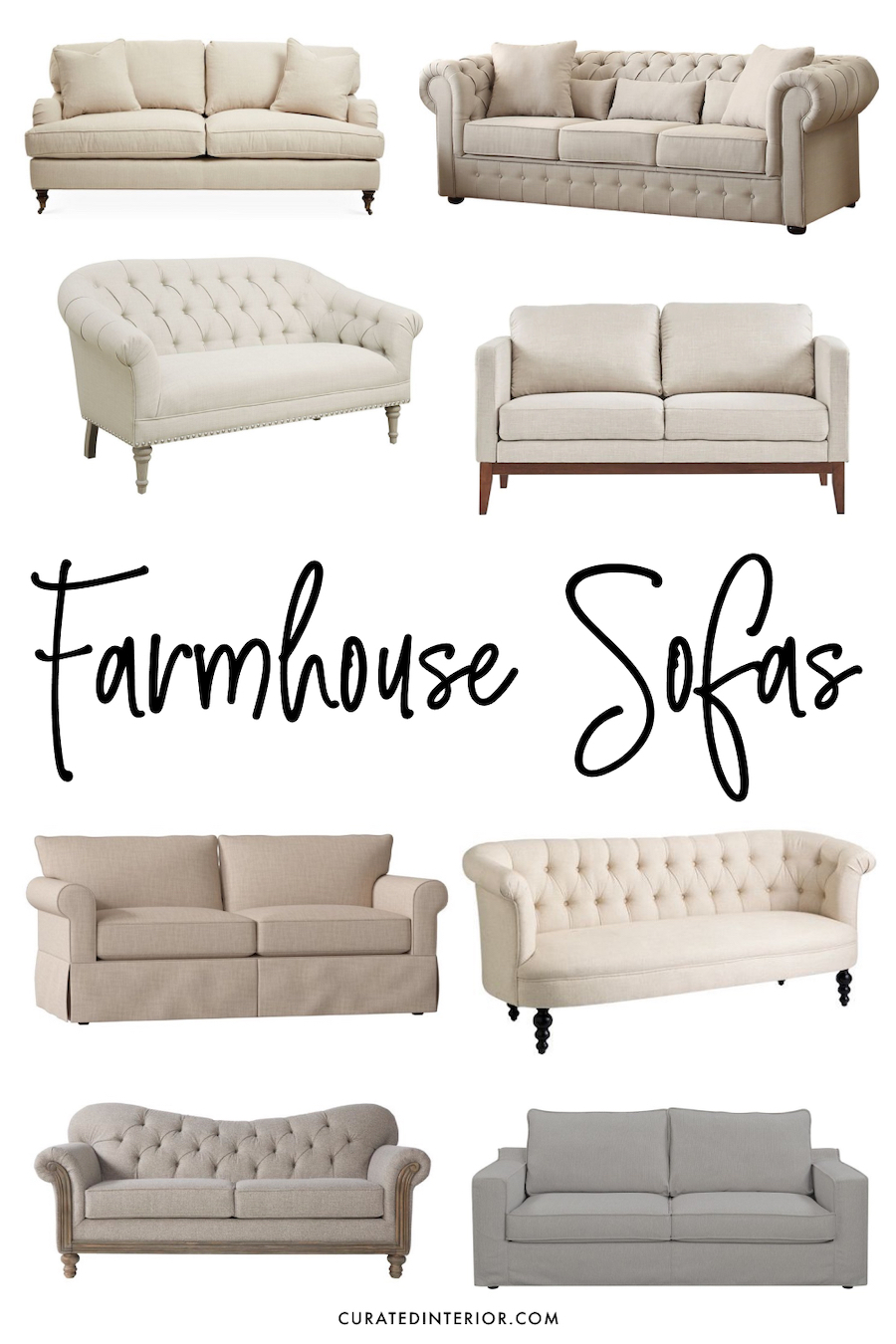 Farmhouse Sofas for ALL Budgets