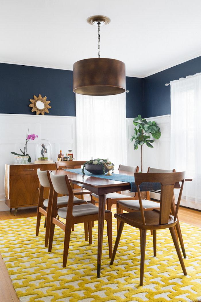 Mid-century Dining room chairs via Domino