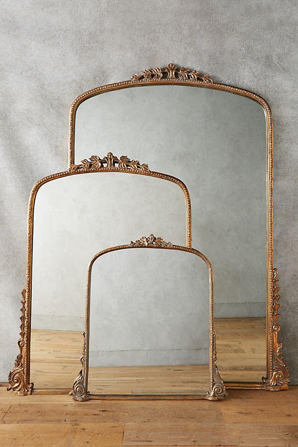 Parisian Style Mirror - Gleaming Primrose Mirror