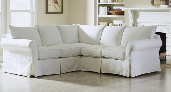 Slipcover Farmhouse Sectional Sofa