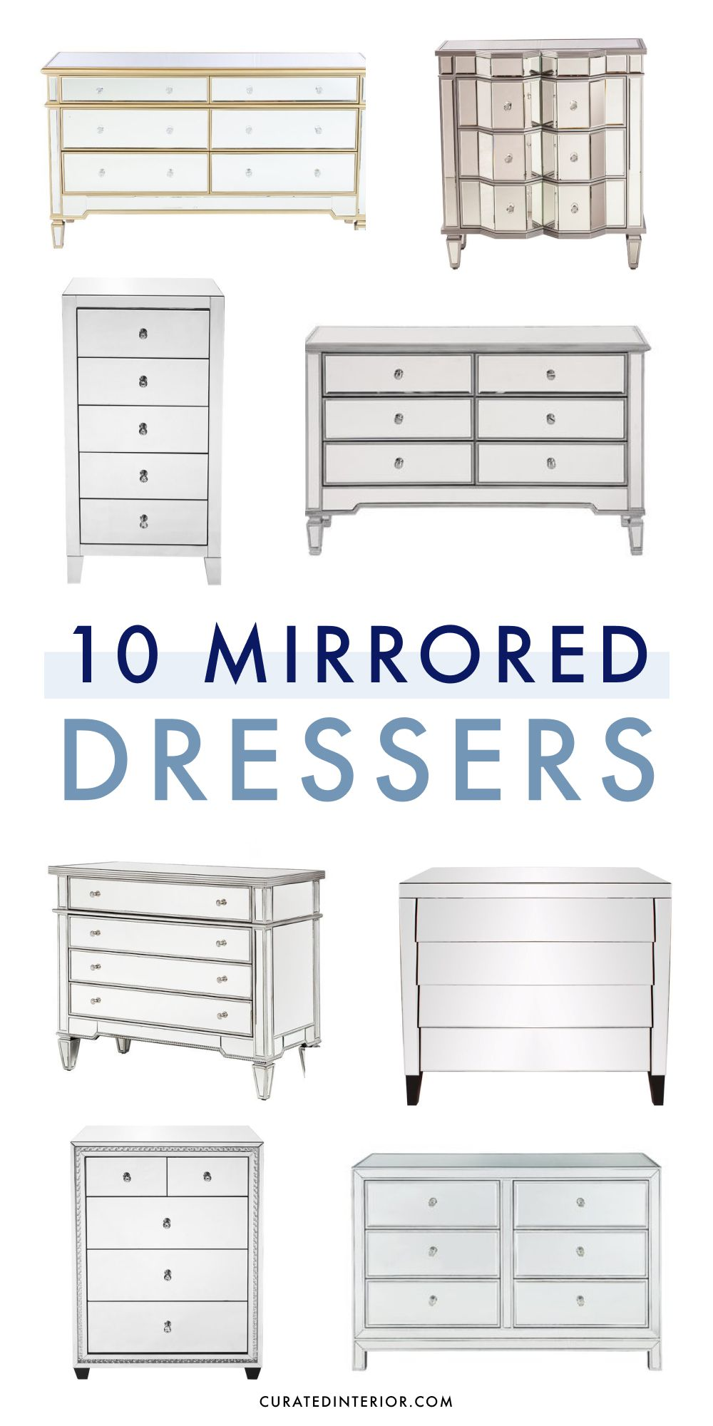 10 Best Mirrored Dressers