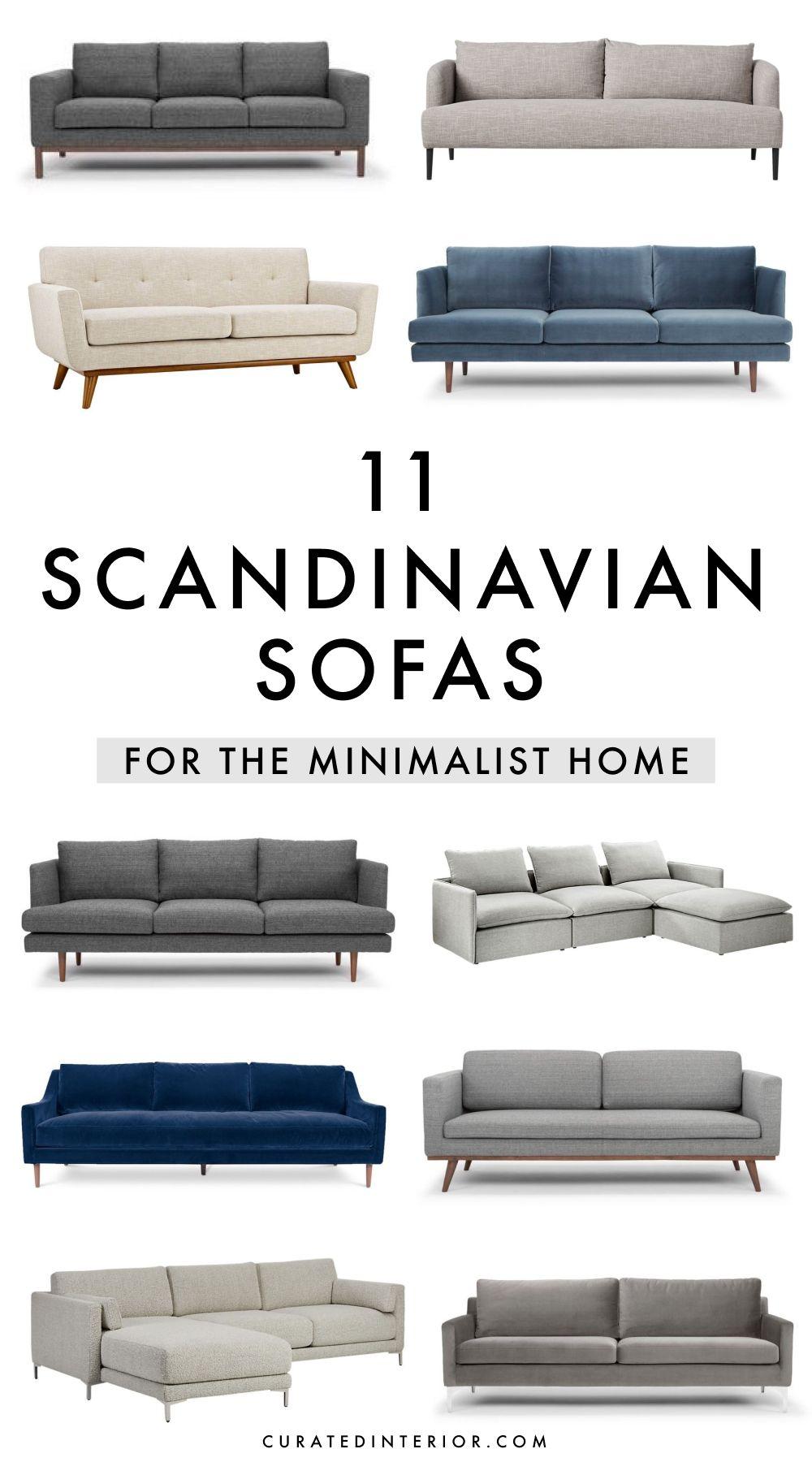 11 Scandinavian Sofas