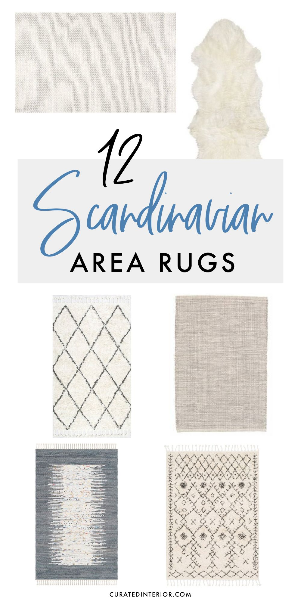 12 Scandinavian Area Rugs