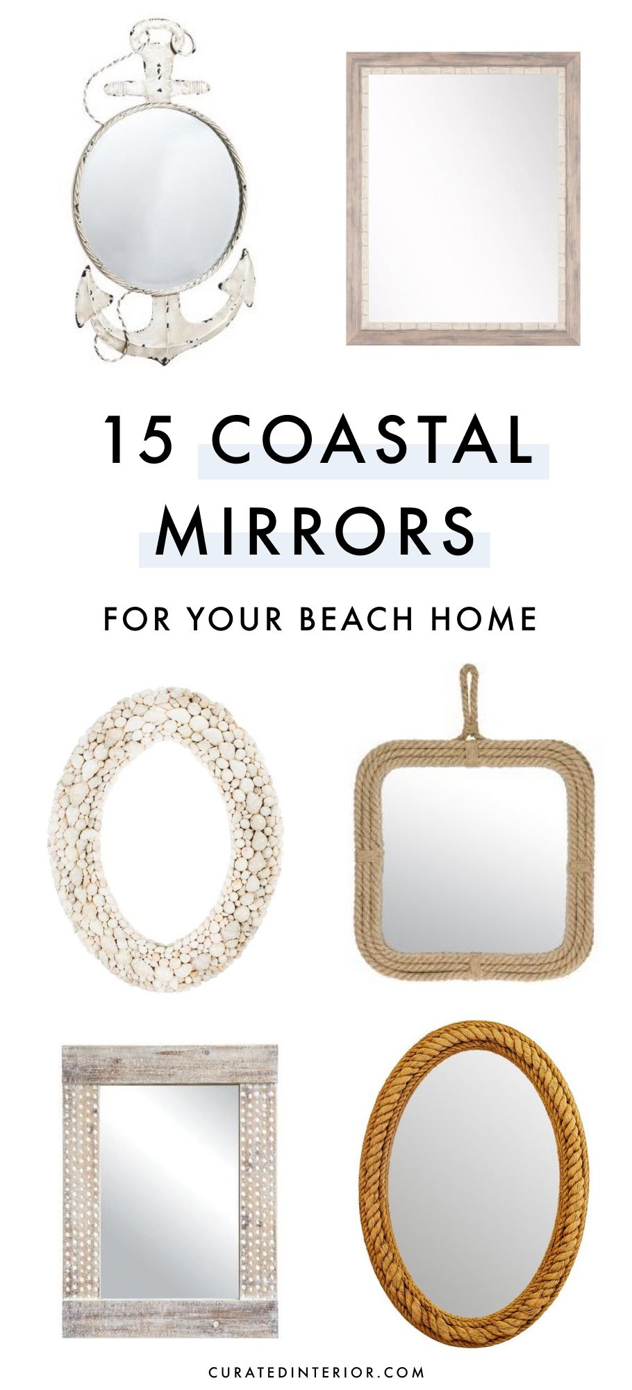 15 Coastal Mirrors for your Beach Home
