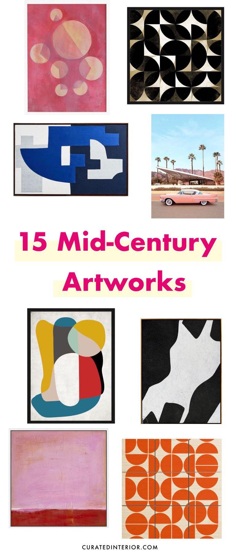 15 Mid-Century Modern Artworks