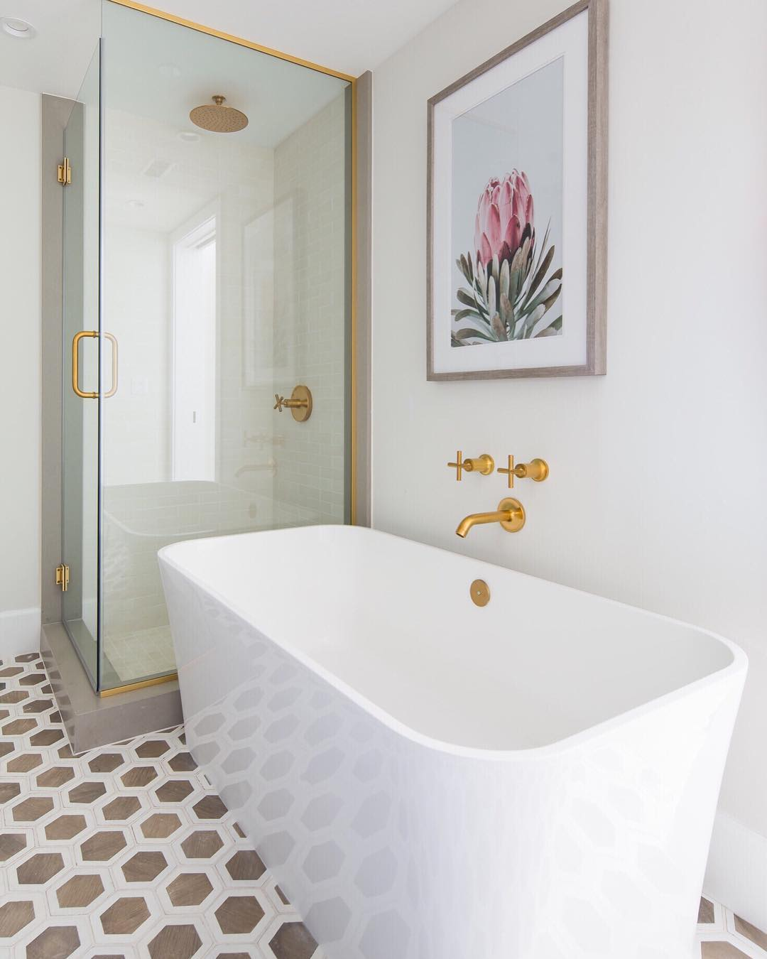 Bathroom - via @brookewagnerdesign