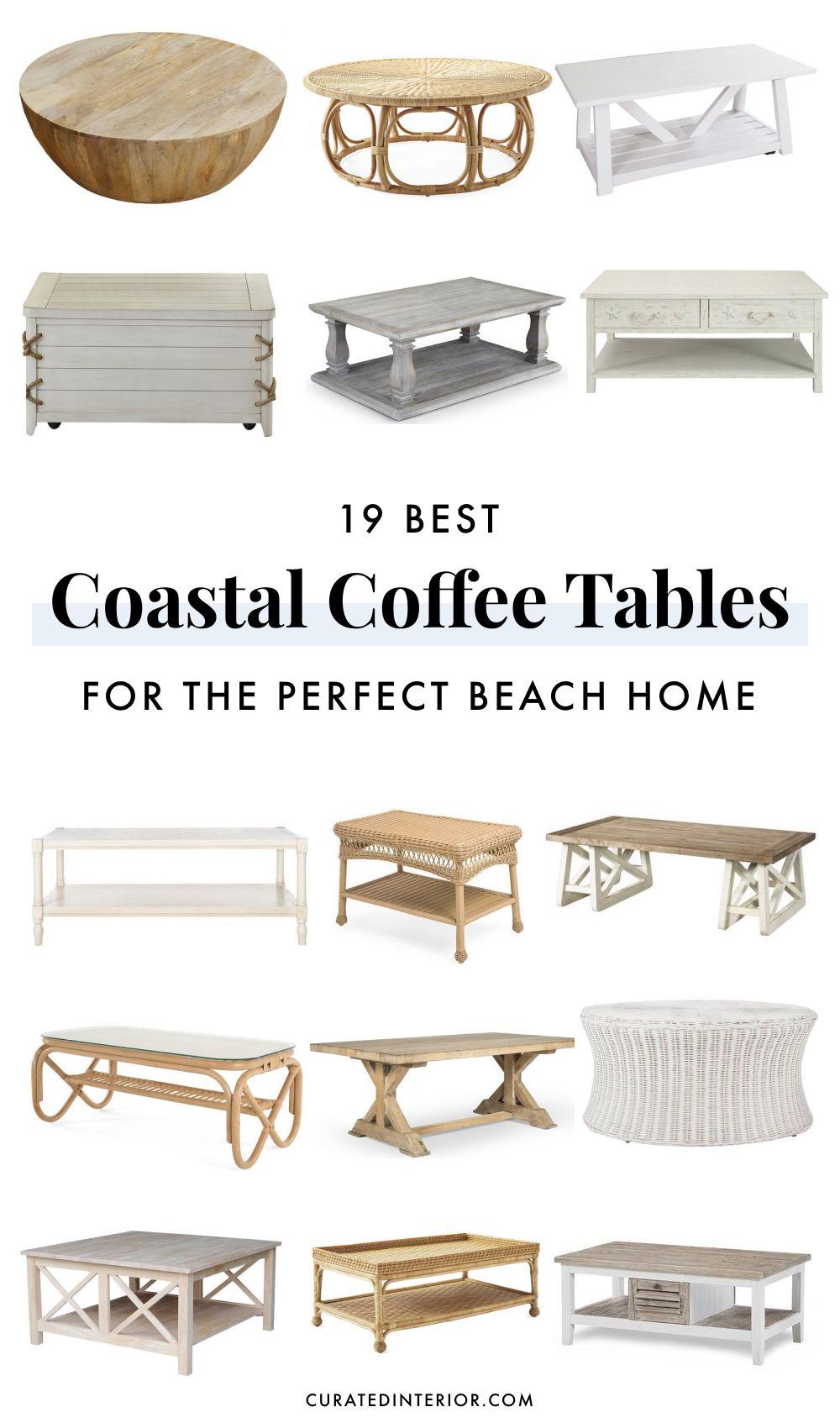 Best Coastal Coffee Tables