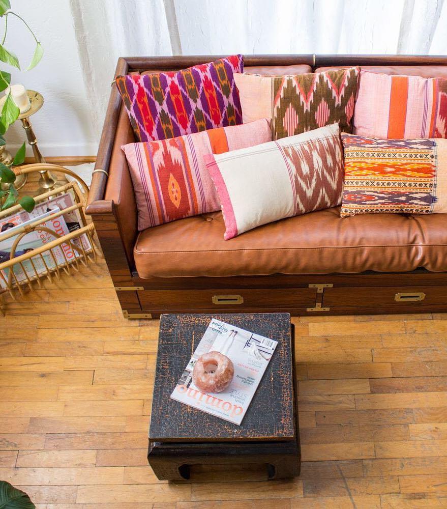 Bohemian Throw Pillows via @golddustgoods